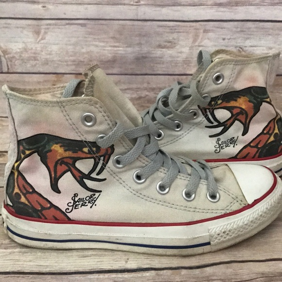 f748f08b3462 Converse Shoes - Converse Sailor Jerry Sneakers